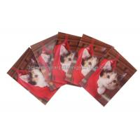 Wholesale Rectangle Adhesive 3D Lenticular Stickers For Children's Book PET/PP Printing from china suppliers