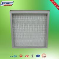 Wholesale Clean Room Gel Seal Fiberglass Hepa Air Filters With Single Head from china suppliers