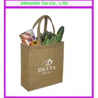 Wholesale linen shopping bag with handle, linen bag manufactory from china suppliers
