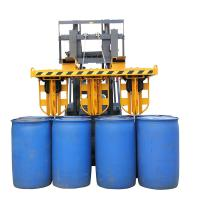 Wholesale Hydraulic Clamp Stacker for Crane And Forklift 6 Drums Once , Drum Forklift Attachment from china suppliers