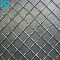 Wholesale SS 316 Stainless Steel Square Hole Crimped Woven Wire Mesh/S.S. 316 crimped wire mesh screen from china suppliers