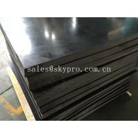 Wholesale SBR rubber plate sheet black rubber board 80mm max thick from china suppliers