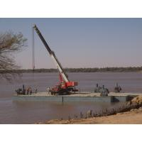 Working Offshore Ferry Barge floating pontoon platforms Reusable