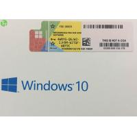 Wholesale Upgrade Microsoft Windows 10 Key Code COA License Sticker Activation Guarantee from china suppliers