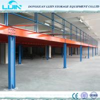 Wholesale Long Span Industrial Mezzanine Floors For Warehouse Storage Custom Size from china suppliers