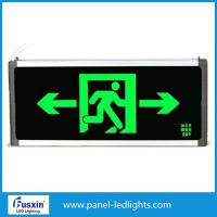 Wholesale 2 X 8w Led Emergency Exit Signs , Led Emergency Exit Lights With Battery Backup from china suppliers