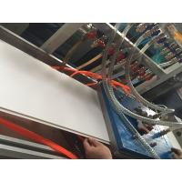 300mm PVC Ceiling Panel Profile Extrusion Line Conical Double Screw Extruder