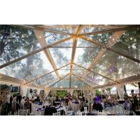 Wholesale Transparent Roof PVC Fabric clear canopy tent for Luxury Wedding Party from china suppliers