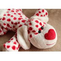 Wholesale Lovely Valentines Day Stuffed Toys / Animal Dog Stuffed Push Toys For Celebration 35cm from china suppliers