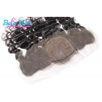 Wholesale Human Virgin Hair Silk Base Closures Lace Frontal More Natural And Lasting from china suppliers