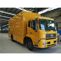 Buy cheap 400 / 440V 300 kW Truck Mounted Generator Sets 6 Cylinder With 2 * 200AH Battery from wholesalers