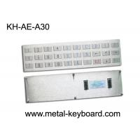 Wholesale Water proof Outdoor Kiosk Industrial Metal Keyboard with 30 Keys Anti - Rusty from china suppliers