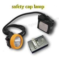 Wholesale Waterproof CE ATEX LED Mining Light 15000 Lux DC 4.2V , Brightest Safety Cap Lamp from china suppliers