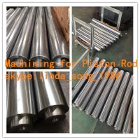Wholesale CK45, ST52 Chrome Plated Piston Rod For Hydraulic and Pneumatic Cylinder from china suppliers