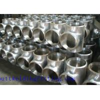 Wholesale Sch 10S Super Duplex Stainless Steel Reducing Tee ASTM A815 Grade UNS S32750 from china suppliers