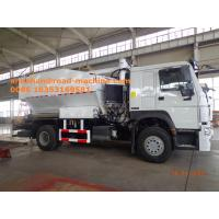 Wholesale Sinotruk HOWO7 8T Site Mixed Granular ANFO Explosive Truck BCLH / BCRH / BCZH Blue from china suppliers