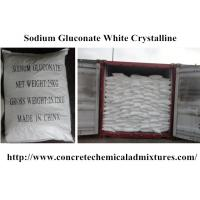 Wholesale 98% Purity Chemical Admixtures For Concrete Water Reducer White Crystalline Powder from china suppliers