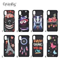 Wholesale iphone8 Hard PC Case Creative Print Pattern Protective Case Drop Proof Cover Hard PC Case for Apple iPhone 8 from china suppliers