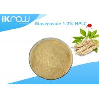 Wholesale Top Quality Ginsenoside 1.2% HPLC Organic Ginseng Powder For Health from china suppliers