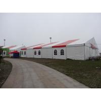 Wholesale Outdoor Activity Festival Camping Tent Waterproof Fabric Material Red / White from china suppliers
