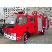 Wholesale Red Double Row Small Fire Fighting Trucks 140 HP 4 X 2 Truck from china suppliers
