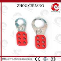Wholesale OEM Six Holes Capacity Lock Shackle Steel Hasp with Tagout Lockout from china suppliers