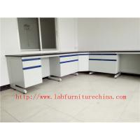 Buy cheap C Frame Science Laboratory Bench Furniture Drawing for Research / Public Security Bureau / Inspection Bureau Laboratory from wholesalers