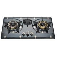 Wholesale Auto Ignition Three Burner LPG Gas Hob , 3 Burner Gas Stove In Stainless Steel from china suppliers