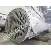 Quality Chemical Processing Equipment  Zirconium 702 Shell And Tube Heat Exchanger  for Acetic Acid for sale