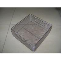 Wholesale Stainless Steel Mesh Wire Basket Customized Silver Plain Weave from china suppliers