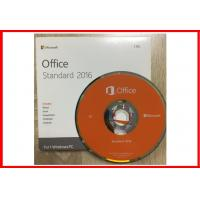 Wholesale Genuine Microsoft Office 2016 Professional Retailbox DVD + Key card from china suppliers