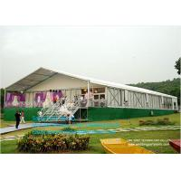 Wholesale 3-50 Clear Span Tents , Big Canopy Party Wedding Marquee Aluminum Tent With Colorful Linings from china suppliers