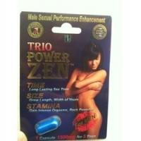 Wholesale Trio Power Zen Sex Capsules Natural Male Enhancement Pills / Sex Capsule For Long Time from china suppliers