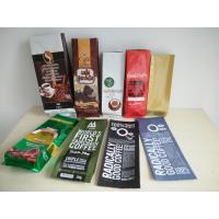 Wholesale Aluminum Foil Coffee Bag With Valve / Coffee Beans Plastic Pouches Packaging 250g 500g 1000g from china suppliers