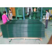 Wholesale Green Weld Folded Wire Mesh Panel with High Strength 4.8 mm Wire Dia from china suppliers