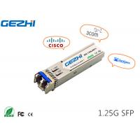 Wholesale 1G SFP 1310nm 20km SFP transceiver SFP Fiber Module compatible with verious brand from china suppliers