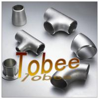 Wholesale butt weld seamless/welded stainless steel pipe fitting for pipeline from china suppliers