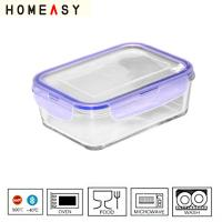 Wholesale Waterproof Ovenable Pyrex Glass Food Containers Heat resistant 1000ml from china suppliers