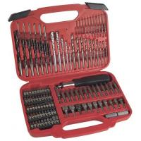 Wholesale 117pcs Combination Screwdriver Bit Set with HSS Twist Drills / Mansary Drills / Wood Drills from china suppliers