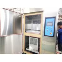 Buy cheap Two Boxes High Low Temperature Air Thermal Shock Chamber , Thermal Shock Equipment from wholesalers