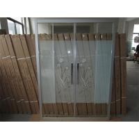 Quality Amman Hot Selling Sliding Shower Glass, Jordan Hot Selling Shower Screens For Hotel Bathrooms for sale