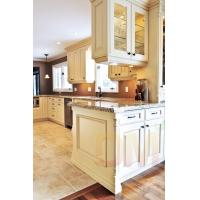 Classical style kitchen cabinet interior of a table room