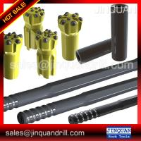 Wholesale VCR360 drill spare parts - T45 Shank adaptors striking bar 450mm ,Couplings,Steel rod from china suppliers
