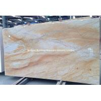 Wholesale Luxury Giallo Macaubas Quartzite Slabs, Brazil Yellow Quartzite Slabs from china suppliers
