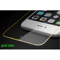 Wholesale Mobile phone tempered glass screen protective film for Iphone 6 with gold side full cover from china suppliers