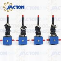 China Durable Lifting JTC25 25kn Manual or Auto Custom Stroke Lowering Screw Jack on sale