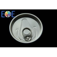 Wholesale Custom Tinplate Can Easy Open Lids , Partial Open EOE Lid With Safe Rim from china suppliers