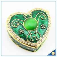 Wholesale Wholesale Enamel Heart Shape Trinket Box Two color Jewelry Box SCJ944 from china suppliers