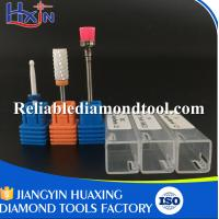 Quality Large Barrel Type XXC / Small Ball Type Medium / Brusher Three Suits Ceramic Diamond Nail Drill Bits for sale