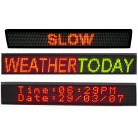 Wholesale Multi Line LED Scrolling Message Board Three and Four Lines LED Sign 32 x 128 from china suppliers